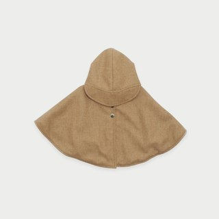Wool Detective Cape ( Nude )