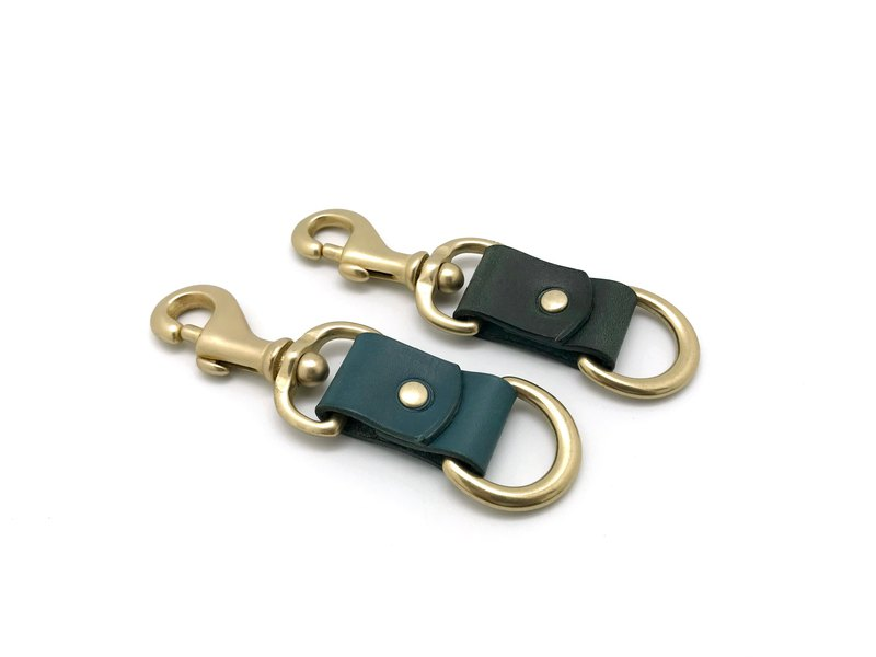 Leather Keychain , Keyring (13 colors)