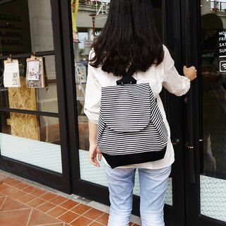 | 08B0 | wooden 実 naval wind obliquely back double backpack black bottom