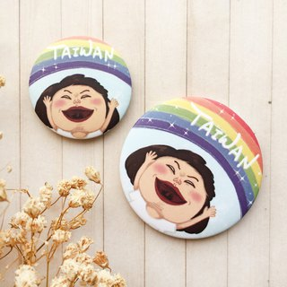 Rainbow Taiwan | Badge/Magnet