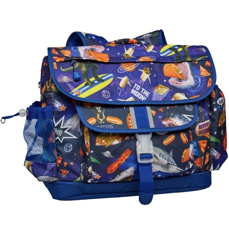 American Bixbee color printing series - space roaming big children lightweight back pressure / school bag