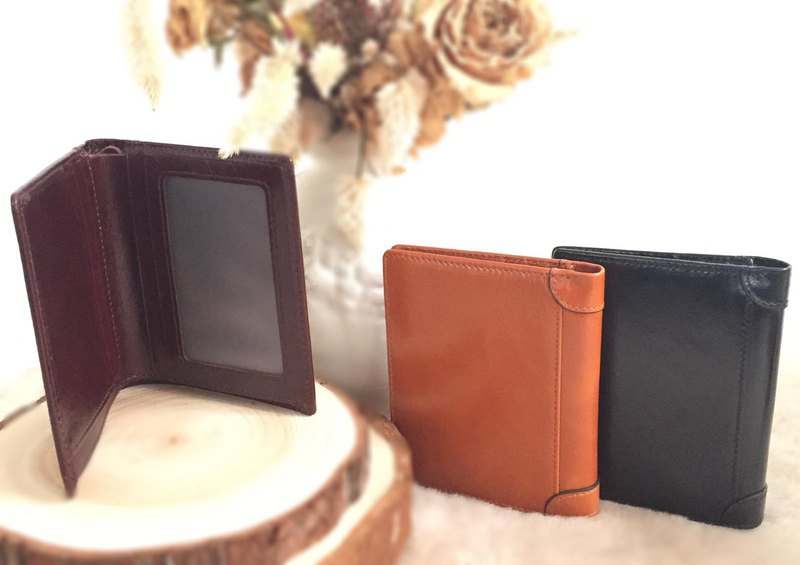 Enigma-A vintage leather wallet