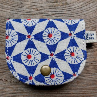 Brut Cake - Printed Vintage Retro Coin Purse (5) Can accommodate change banknote cards and headphones