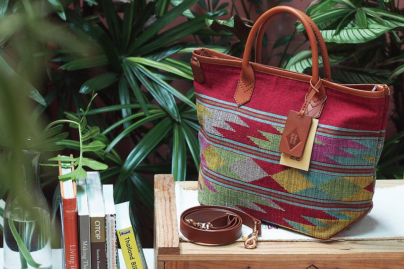 Top Handle Bag : ASEAN HERITAGE SERIES , Tai Lue Textiles
