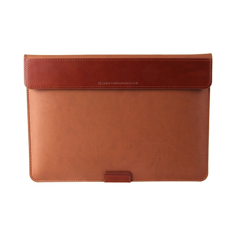 BEFINE Stand Pouch II MacBook Pro 15 (2016) special admission PC protection package - brown (with Touch Bar functional MacBook Pro 15 was put into oh) (8809305227486)
