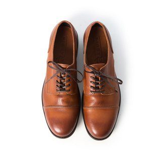 ARGIS Japanese classic horizontal derby gentleman shoes #21138 coffee - Japanese handmade