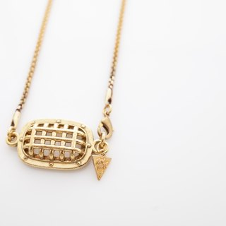 Mic cover necklace
