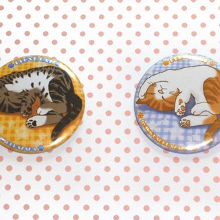 Badge~ Sleeping cat badge group