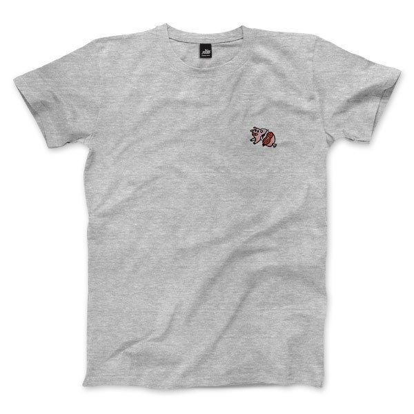 nice to MEAT you - Pig - Deep Heather Grey - Unisex T-Shirt