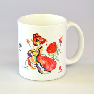 Tiger Scorpio - Scorpio / 12 constellation illustrations mug