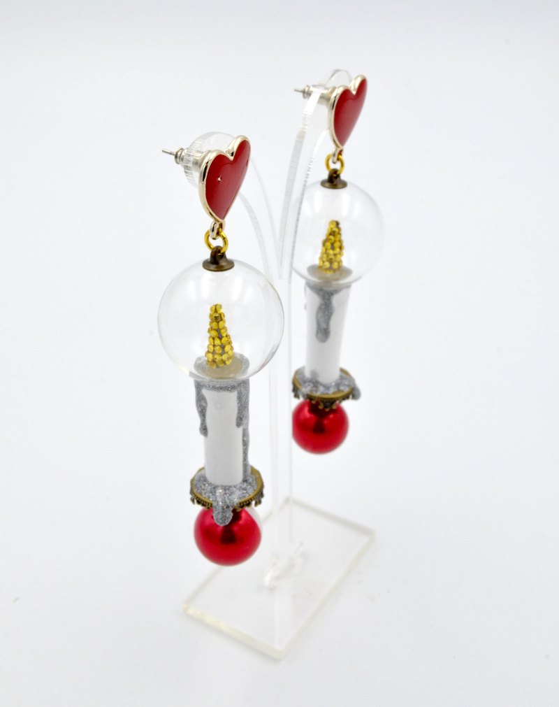 TIMBEE LO Lady's Flare Candle Earrings Limited 2 Pairs