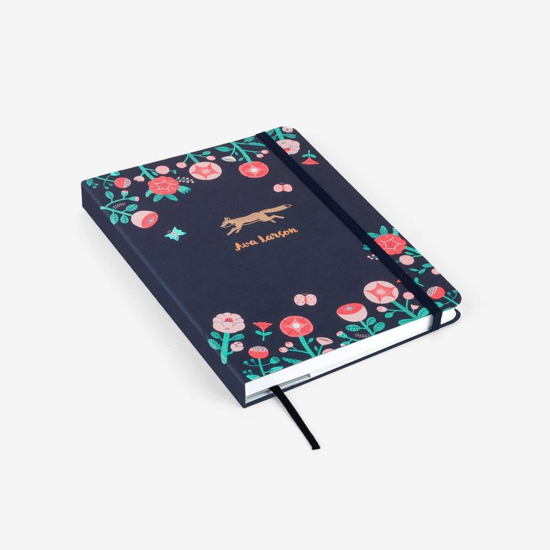 Flower Fox Personalized 2020 Threadbound Planner