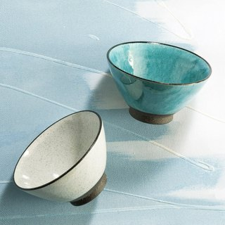 There is a kind of creativity - Japan Meinong - Breeze and Rain Tea Bowl (2 pieces)
