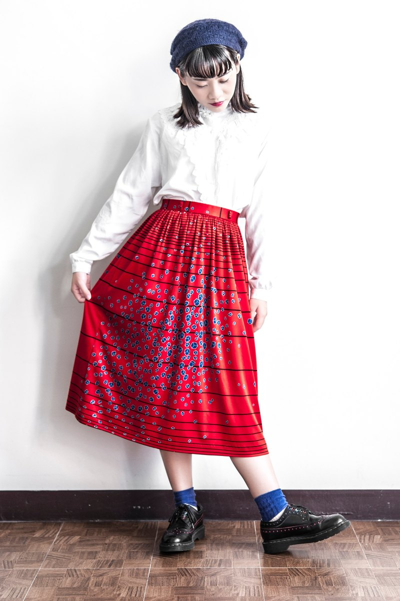 Vintage Retro Empire Skirt