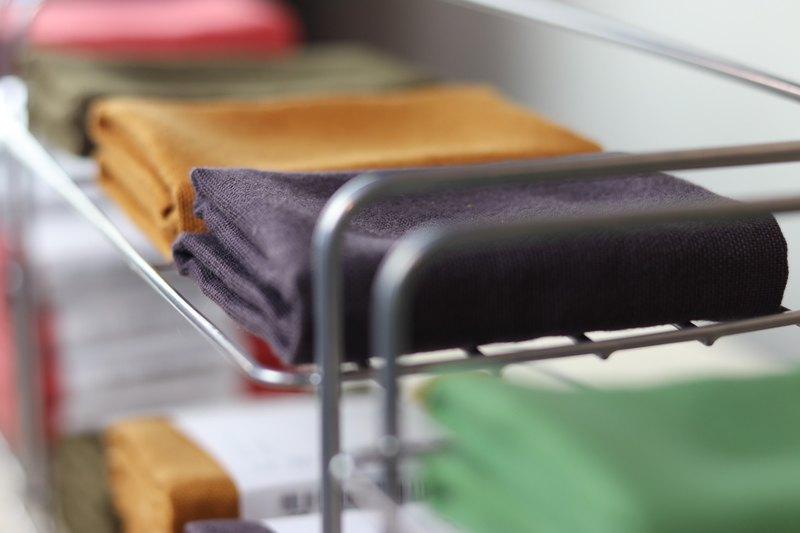 【茶週邊】天然染色茶巾 Small Tea Cloth