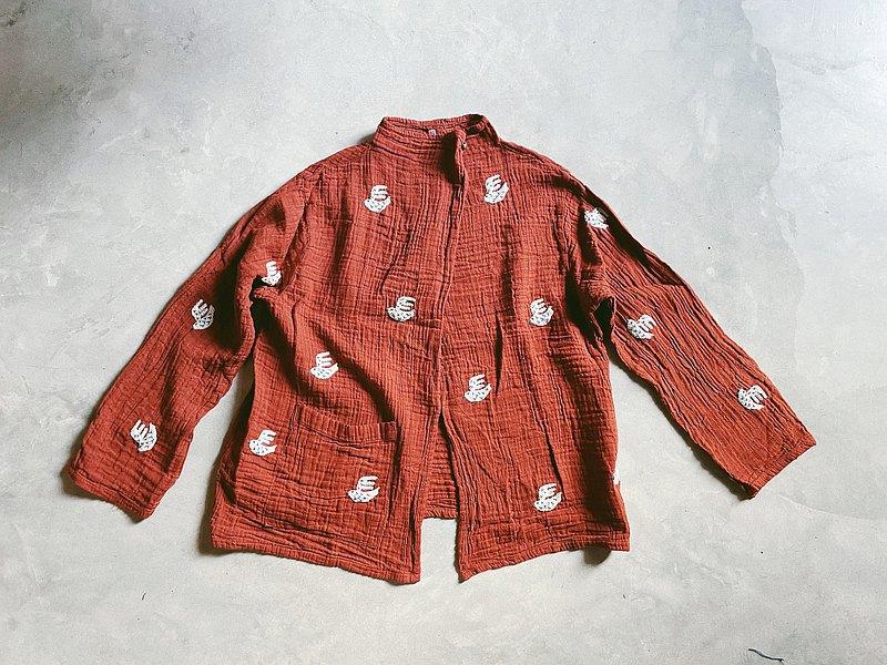 帶小鈴鐺的小鳥開衫