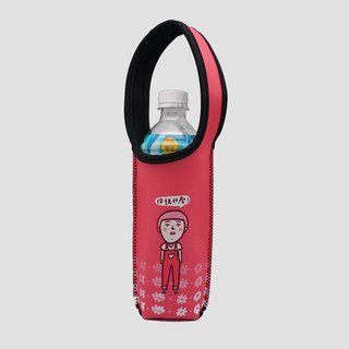 BLR insulated bottle bag cold insulation anti-collision TC74 Magai's good friend's daily conversation (pink peach)