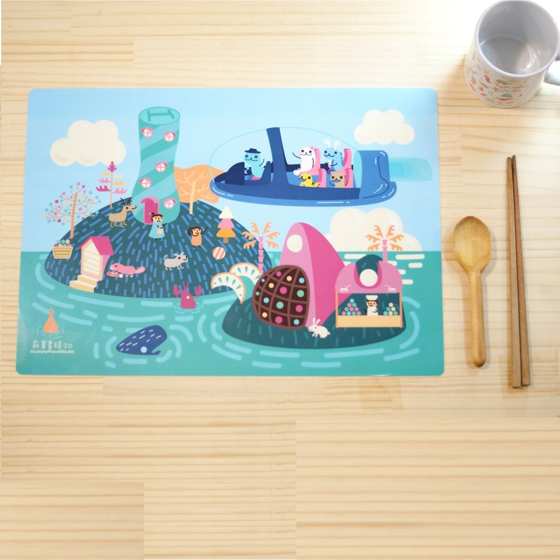 Lonely Planet Placemat - Picture Book Little Theater 3 - Candy Island