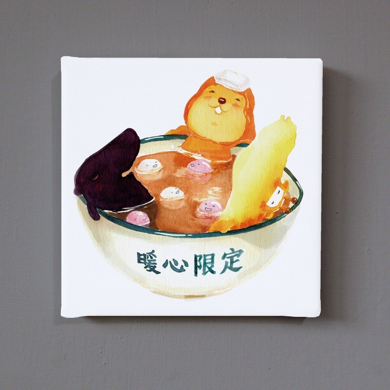 【9cm zoo exclusive version】replica painting