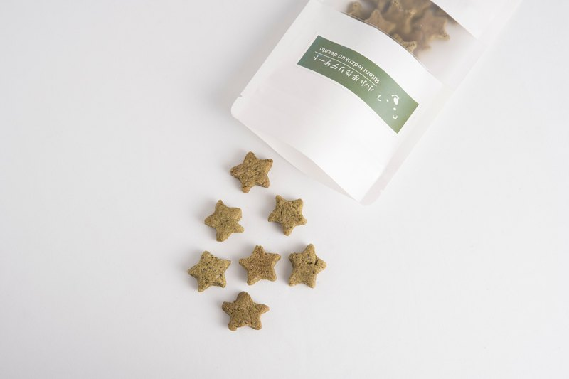 No Cream Cookies │ Jasmine Green Tea Star Shortbread