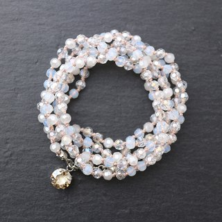 Wrap Bracelet (White Mix)