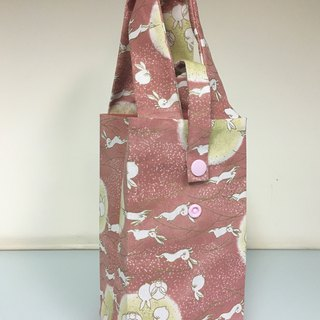 Eco-friendly beverage bag, accompanying cup bag, breakfast bag, rabbit