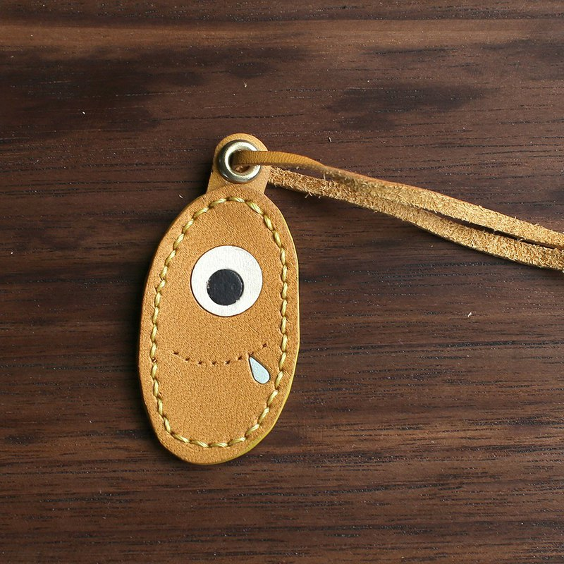 Monster Leather Charm
