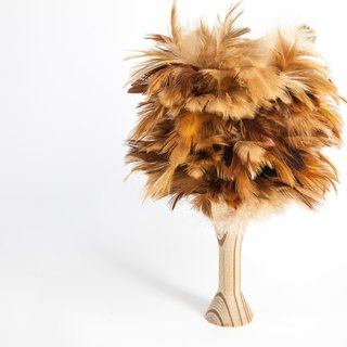 Small Chicken - Changhua Feather Duster Desktop Cleaning Brush