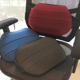 AC RABBIT air cushion experience value group - large mesh air cushion slippers x inflatable lumbar cushion