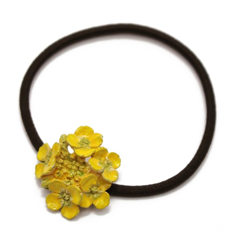 Field Mustard hair elastic / Nanoha hair rubber HG006