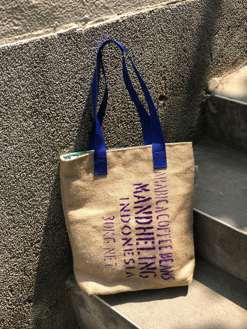 Environmental protection bag / manual limited edition / cotton / linen / Wenqing essential / coffee linen bag