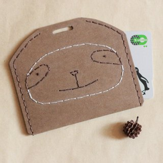 Sloth ticket card holder