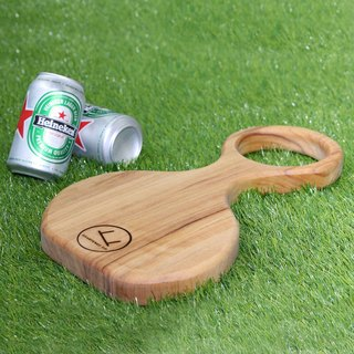 Large Ring Handle Shaped Serving Board