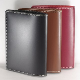 Passport Holder Passport Case Cowhide Leather Coarse Line Pay Custom Lettering Service