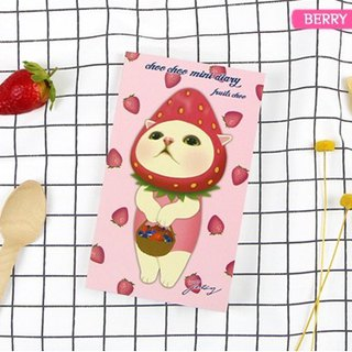 Jetoy, sweet cat fruit DIY calendar plan _Berry choo J1712102