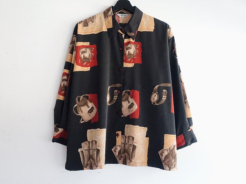 Awhile一時 | Vintage 長袖襯衫 no.314