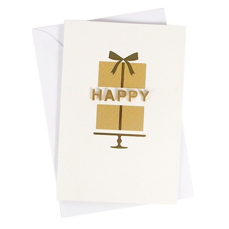 Beautiful and three-dimensional birthday gift [Hallmark-Signature handmade series birthday greetings]