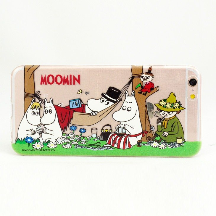 "Moomin Moomin genuine authority -TPU phone case: [picnic] ""iPhone / Samsung / HTC / ASUS / Sony / LG / millet / OPPO"""
