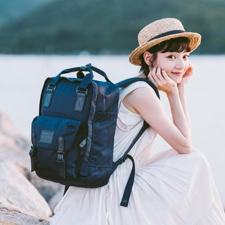 Doughnut Waterproof Macarons Backpack - Replica Black