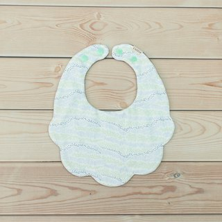 Hillside Flower Pocket Bib Twist Towel Eight Layers Yarn