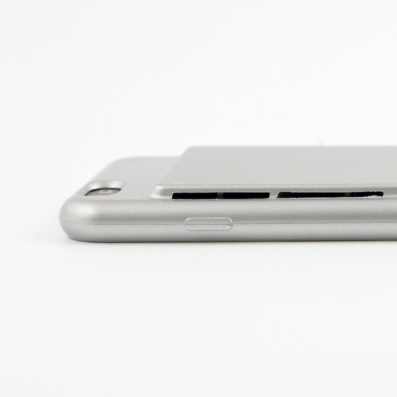 [Oshi OSHI] Dual Speaker Mobile Shell - Silver (For iPhone6/6s)