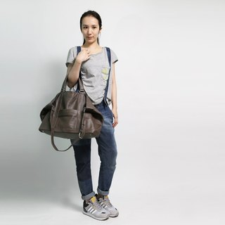 Passion tote gray beige hand / shoulder / hatchback