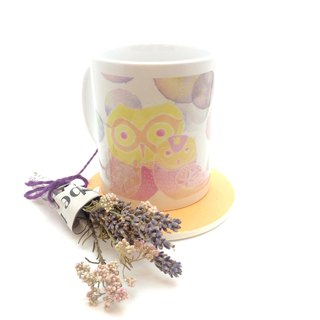 Mug 【love to spend with the owl】