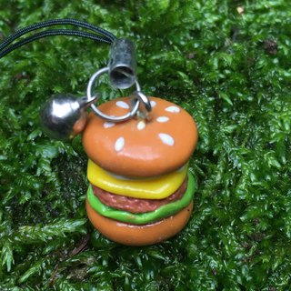 Mini phone Charm / Burger models