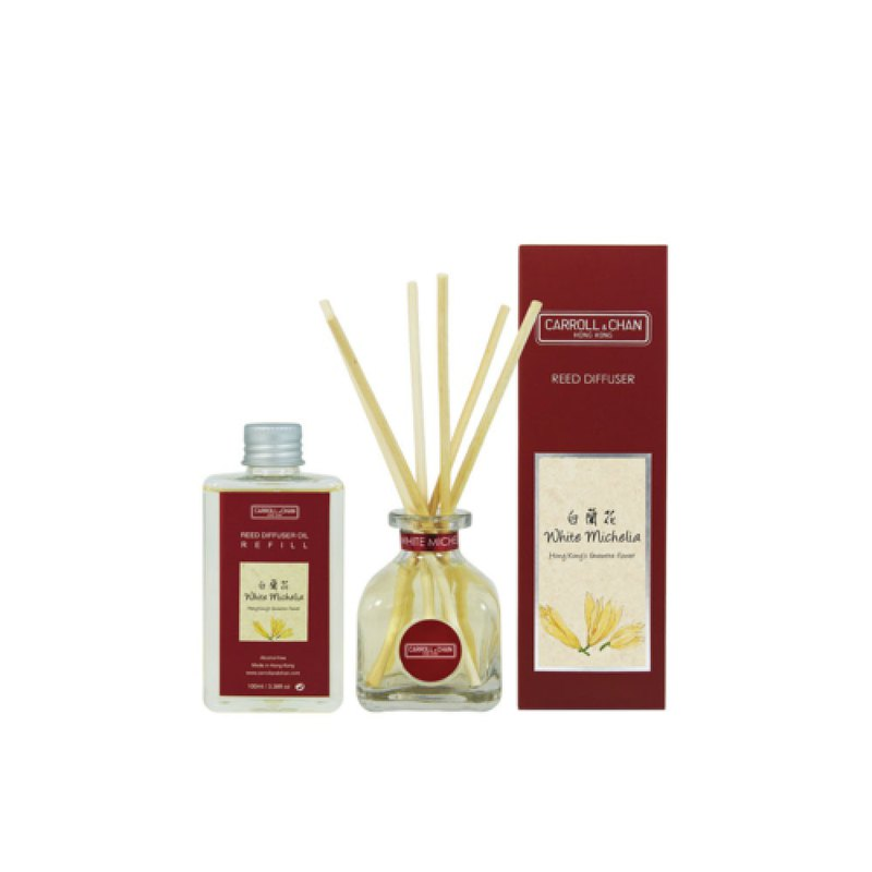 100ml White Michelia Reed Diffuser