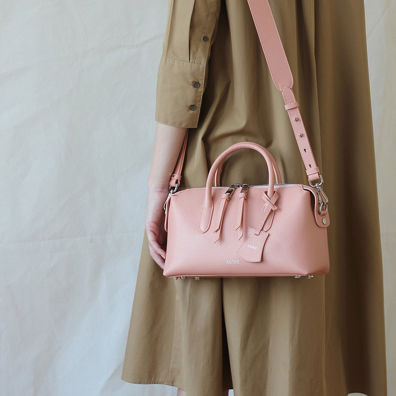 P i L L o w  Old Rose  - Genuine Leather Bag (Cow Leather)