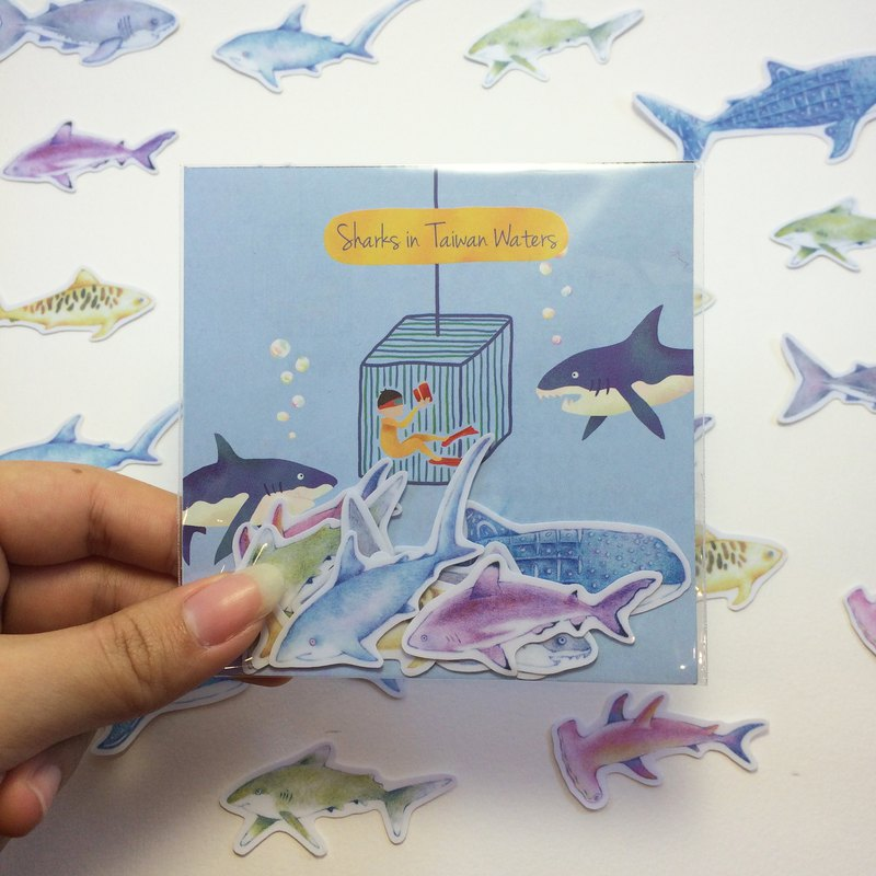 Taiwan's shark stickers