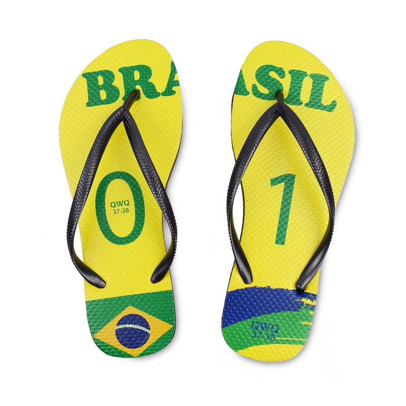 QWQ creative design flip-flops - Brazil - female models [limited]