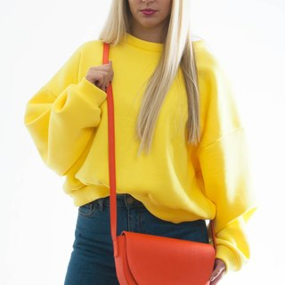 WAVE crossbody bag orange