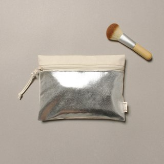 Shining Silver LayBag Sleeping Bag Makeup Small Storage Bag